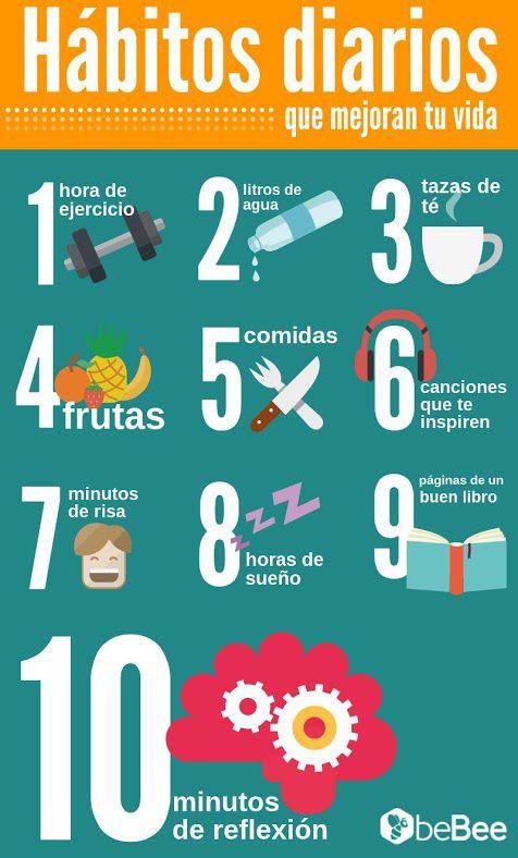 hábitos diarios