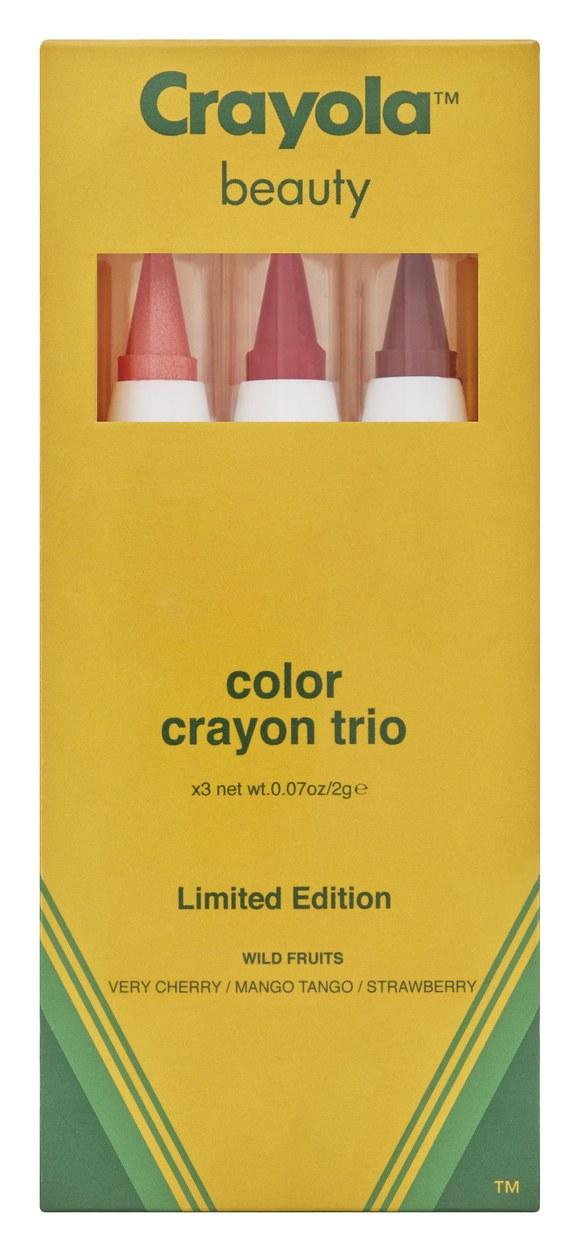 Prepara a tu niño interno: ¡Crayola lanzará una línea de maquillaje!