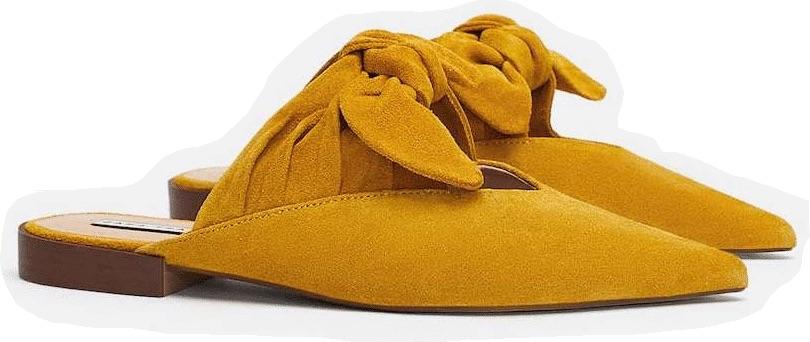 slippers-zara-amarillos