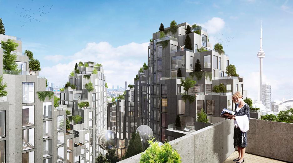Uno de los edificio de la firma danesa BIG que muestra cómo un edificio puede ser innovador, ecológico y moderno.
