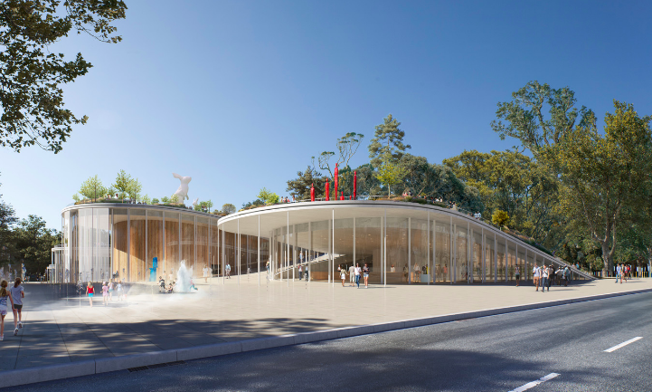 Proyecto diseñado por la firma danesa BIG en Australia.
