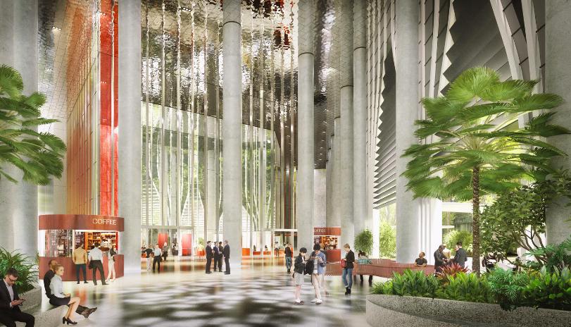 Un proyecto diseñado por la firma danesa BIG en Singapur.