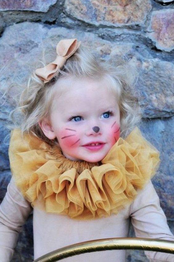 Ideas para tu disfraz de halloween, disfraz de halloween para tu bebé, disfraz de halloween para niños, disfraces de halloween para bebés, disfraz de león,disfraz animal para halloween, disfraz de león para Halloween.