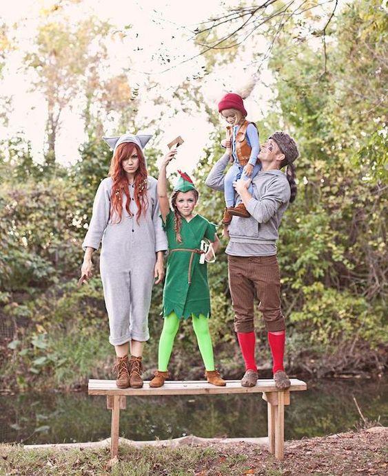 ideas para disfraces de halloween, ideas para disfraces de halloween grupales, disfraces grupales, peter pan disfraz, disfraz de peter pan, peter pan costume.