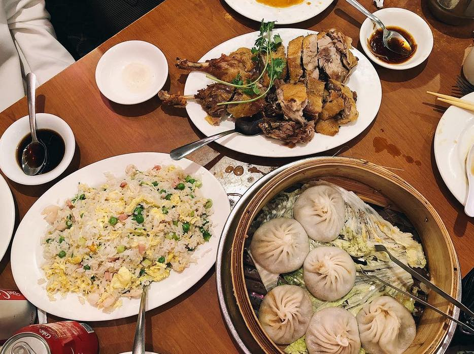 Comida china en nueva york, chinatown, joes shanghai.