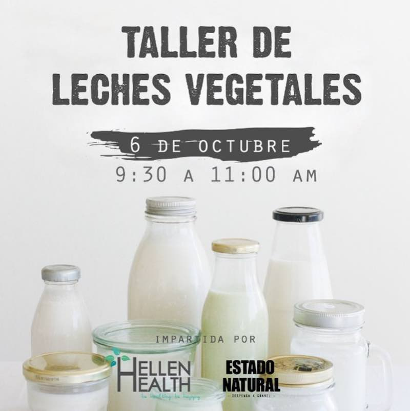 taller de leches vegetales CDMX
