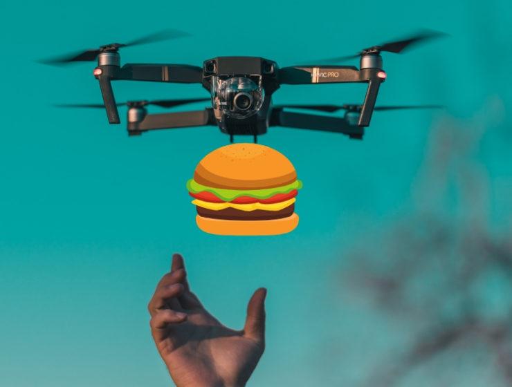 Uber drones